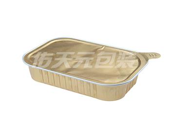 快餐盒饭预制盒包装