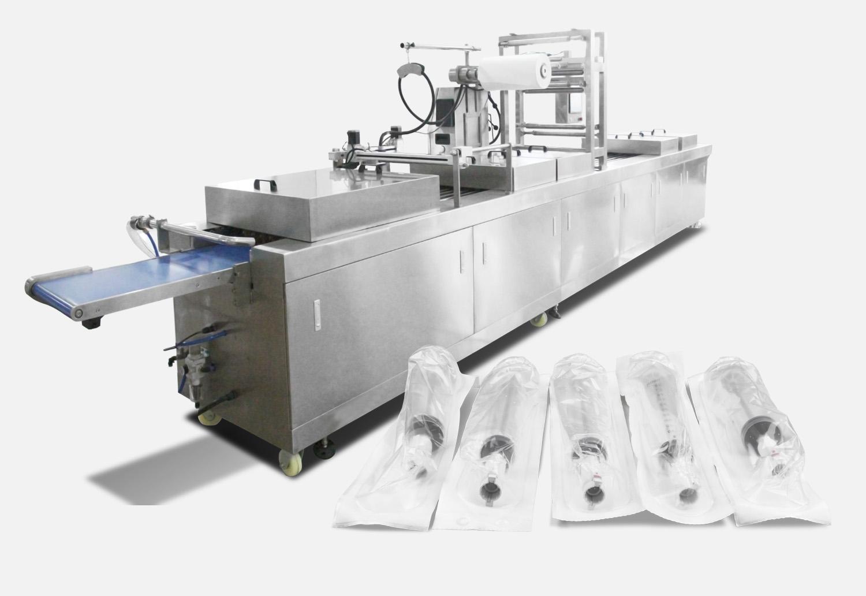 注射器热成型拉伸包装机