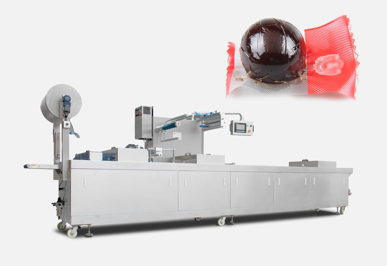 卤蛋拉伸膜真空包装机