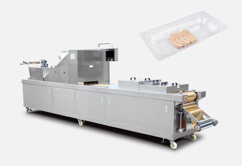 香肠全自动真空贴体包装机