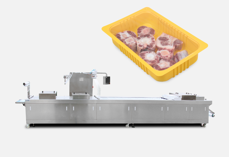 冷鲜肉热成型气调包装机
