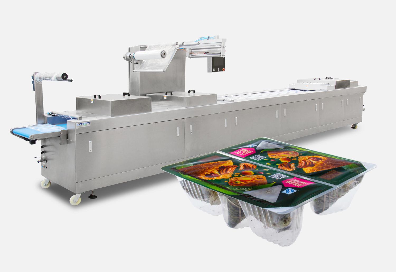 粽子热成型拉伸包装机