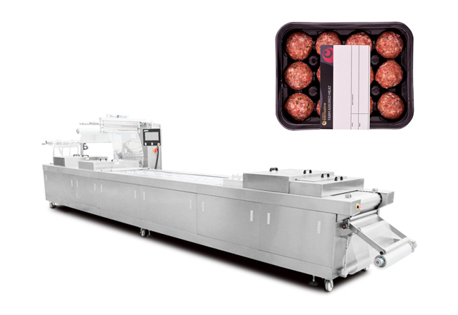 肉丸热成型气调包装机
