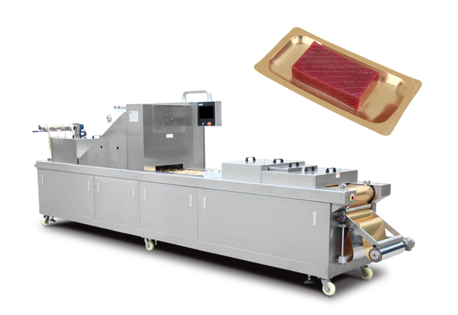 肉砖全自动真空贴体包装机
