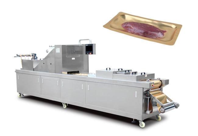 冷鲜肉全自动真空贴体包装机