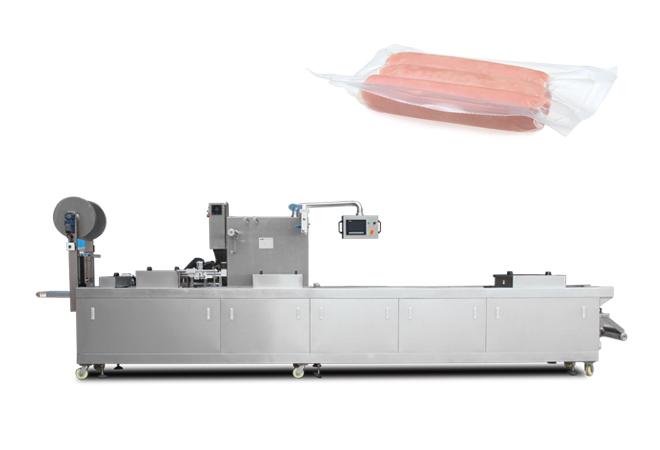 香肠拉伸膜真空包装机