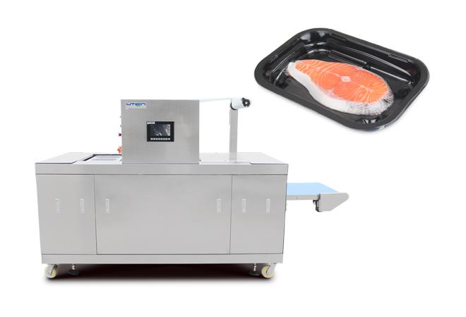 三文鱼预制盒连续贴体包装机