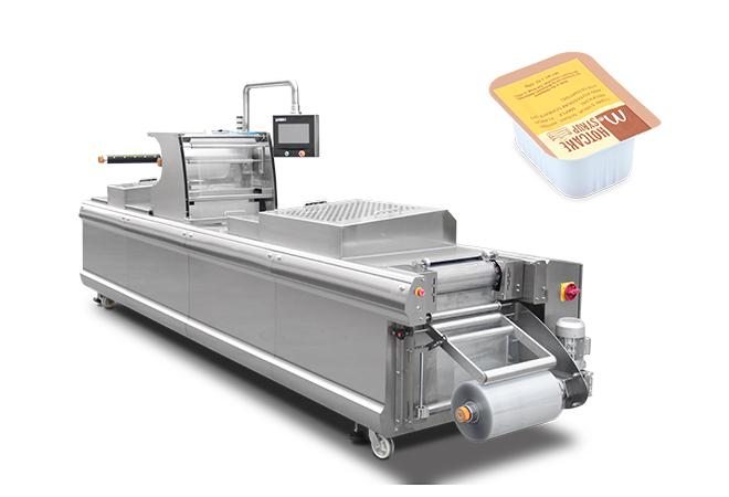 番茄酱热成型拉伸包装机