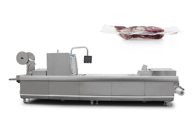 冷鲜肉拉伸膜真空包装机