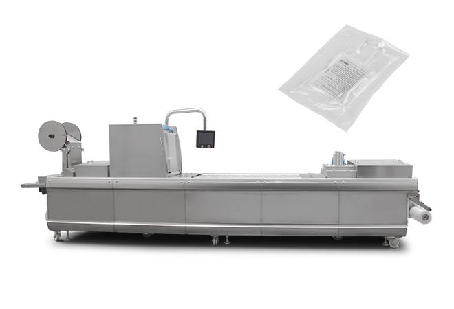 盐水袋拉伸膜真空包装机