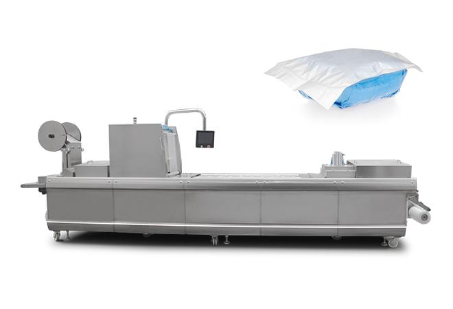纱布拉伸膜真空包装机