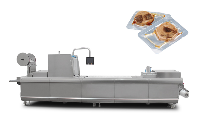 豆干拉伸膜真空包装机