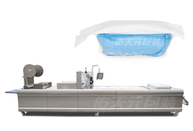 纱布全自动热成型真空包装机