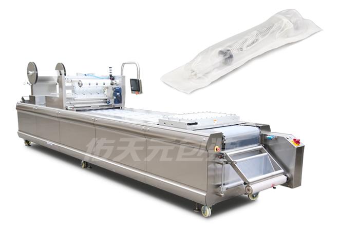 注射器热成型拉伸膜包装机