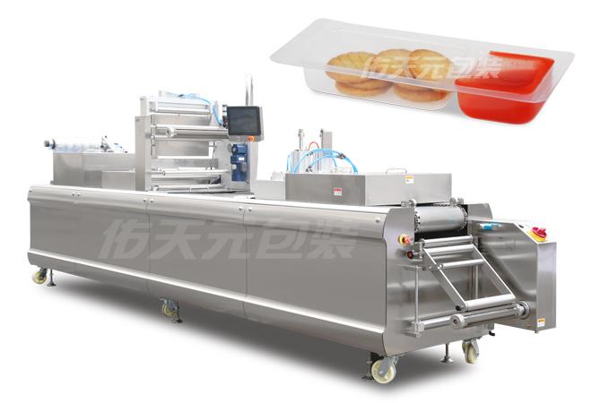 饼干全自动热成型气调包装机