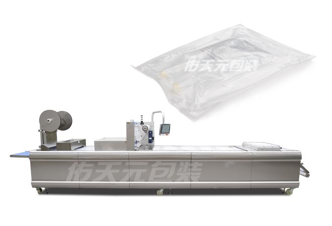 输液袋全自动拉伸膜包装机
