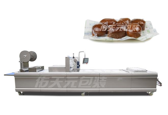 卤蛋全自动热成型真空包装机