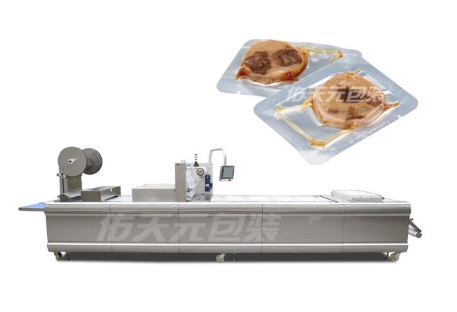 豆干全自动热成型真空包装机