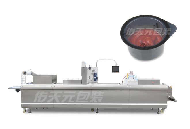 酱料全自动热成型拉伸膜包装机